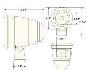 Dimension of Bullet